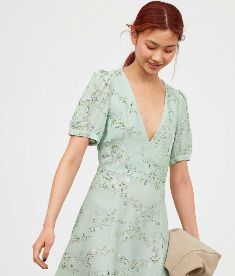 Crepe Dress Front